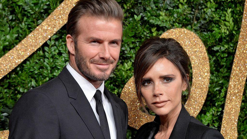 Ungkapan Cinta David Beckham untuk Victoria di Hari Ibu