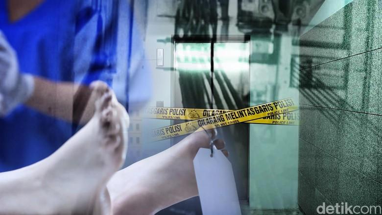 Karyawati Restoran yang Tewas Terjepit Lift Terluka di Wajah
