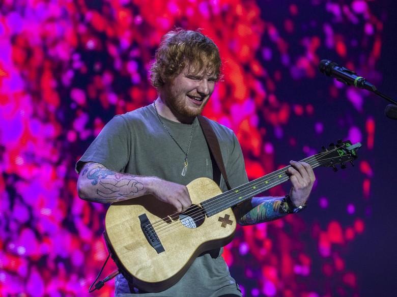 Tur Asia, Ed Sheeran Diyakini Bakal ke Indonesia