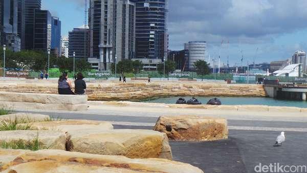 Barangaroo Point, Terminal Peti Kemas yang Jadi Taman Kota di Sydney