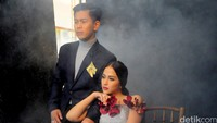 Konsep kali ini, Diera mengangkat tema High Fashion Couture. Pool/Ismail/detikFoto.