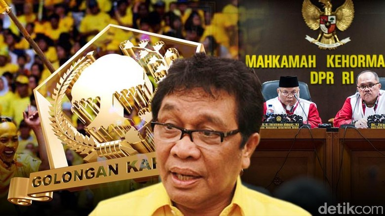 Paspampres Sempat Larang Ketua Golkar Sultra Masuk Arena Munaslub