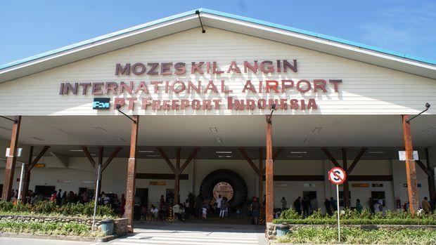 Bandara Mozes Kilangin Timika.