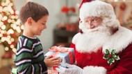 Foto Bareng Santa Claus Jadi Kenangan Sebelum Balita Ini Meninggal