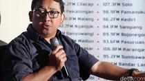 Fadli Zon Usul Jokowi Gratiskan Jagorawi: Itu Baru Bukan Pencitraan