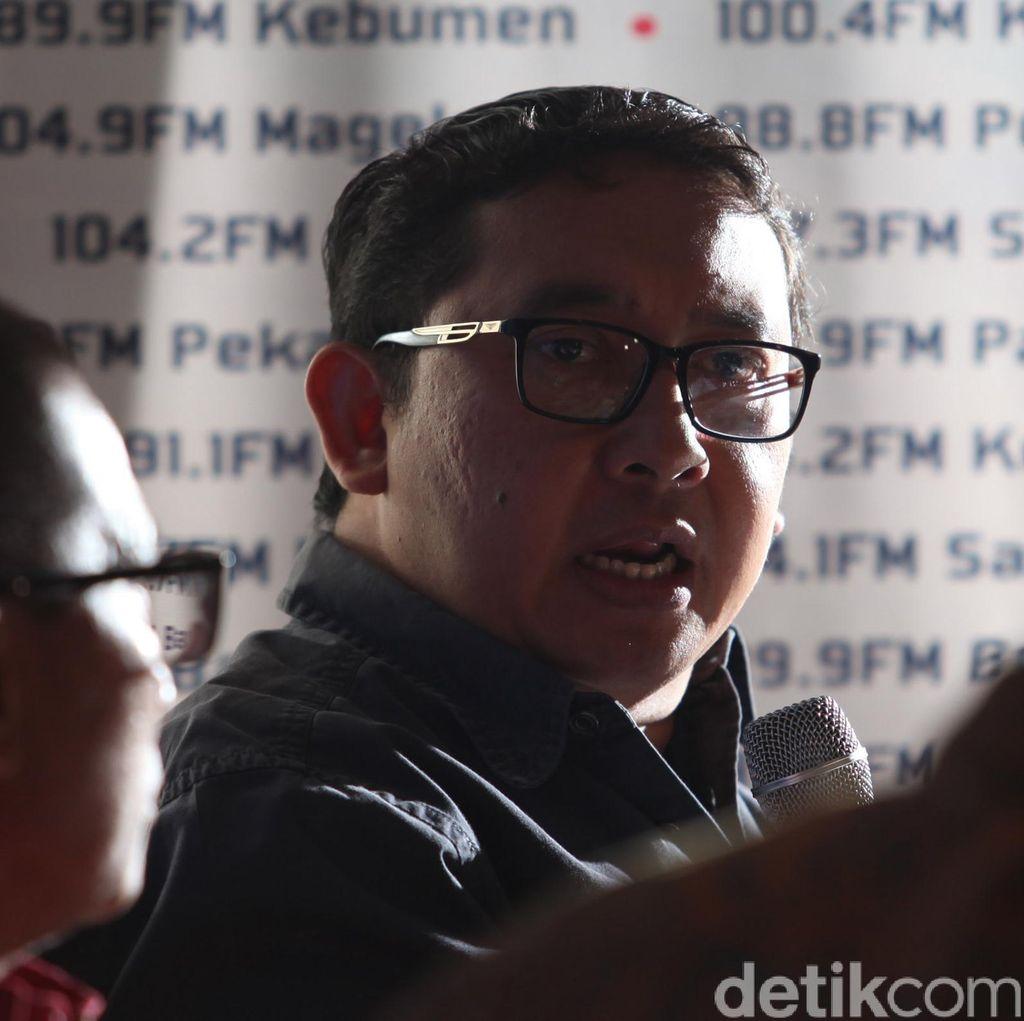Jokowi Sebut 4,5 Tahun Diserang Fitnah, Fadli Zon: Halusinasi