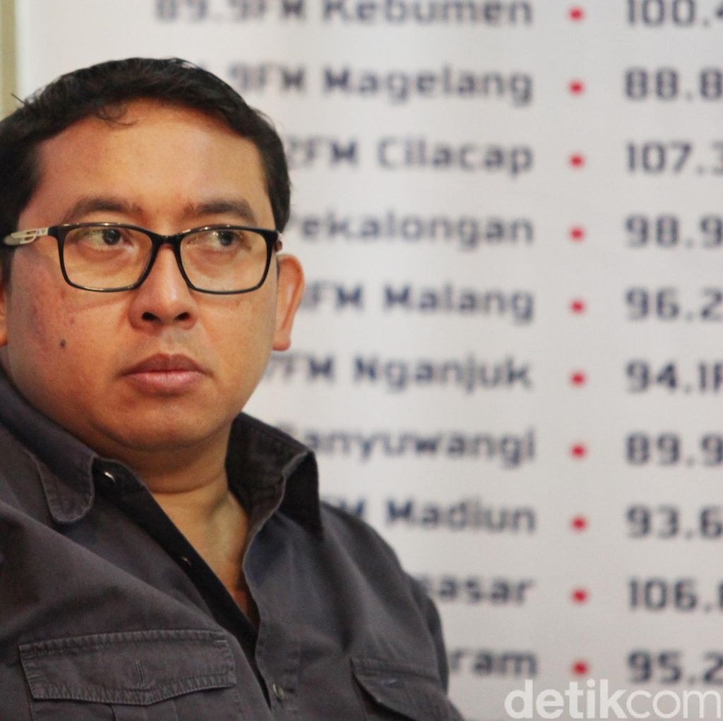 Fadli Zon Tulis Puisi Petruk Jadi Raja Usai Sindir Raja Jokowi
