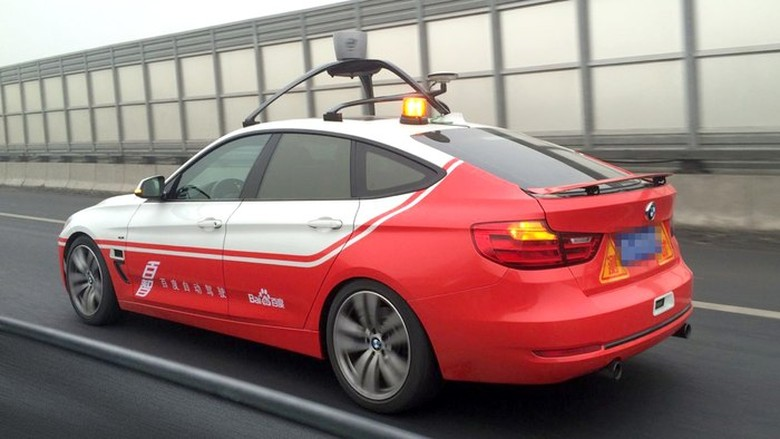 Mobil otonom Baidu. Foto: Gizmag