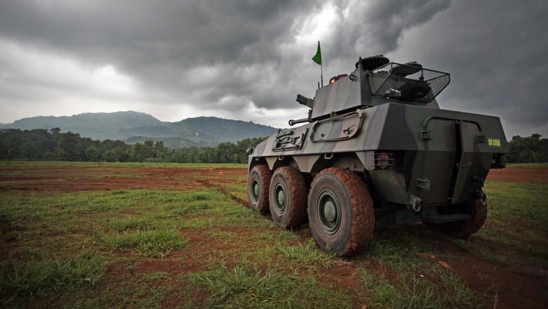 Panser Kanon 90 mm, Badak, buatan PT Pindad (Persero)