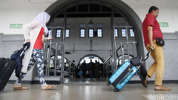 Stasiun Pasar Senen/Foto: Grandyos Zafna