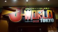 Tidak berlokasi outdoor, J-WORLD terletak di lantai tiga sebuah gedung bernama Sunshine City World Import Mart, Toshima, Tokyo, Jepang.