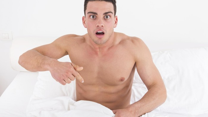 Pria yang khawatir dengan kanker prostat. Foto: ilustrasi/thinkstock