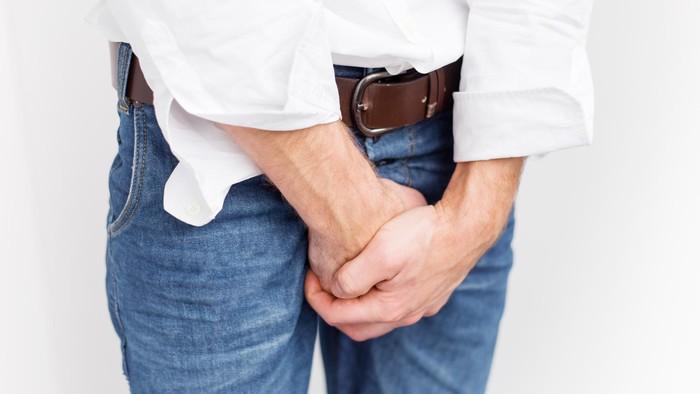 Ilustrasi penis tersangkut. Foto: thinkstock