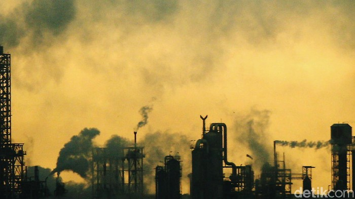 Asap Polusi pabrik. dikhy sasra/ilustrasi/detikfoto