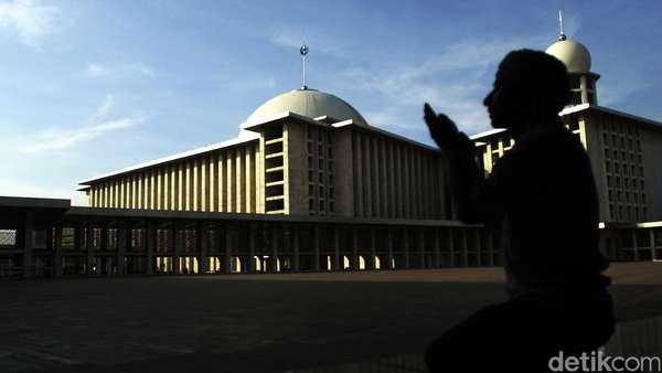 Usai Direnovasi, Tempat Salat Masjid Istiqlal bakal Lebih Kinclong
