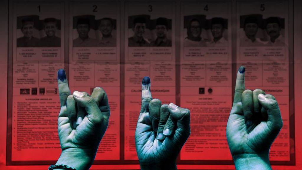 Calon Kandidat Perseorangan di Pilkada Sulsel Masih Kekurangan Ribuan Suara