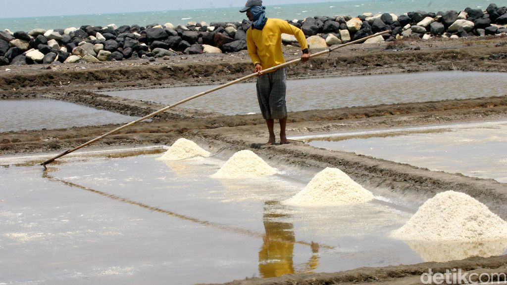Pengusaha Garam Keluhkan Pasokan Bahan Baku Kurang