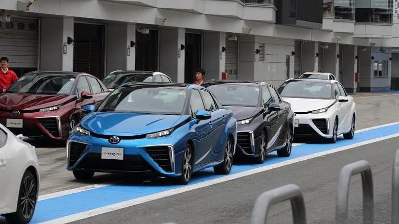 Toyota Mirai Foto: Toyota