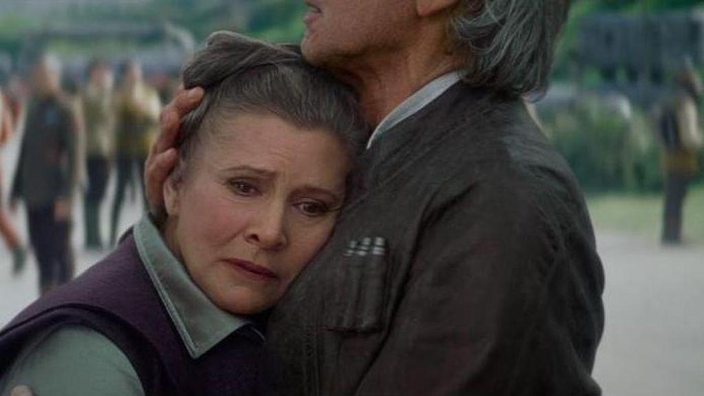 Ketika Princess Leia Melawan Para Bully yang Mengkritik Penuaannya