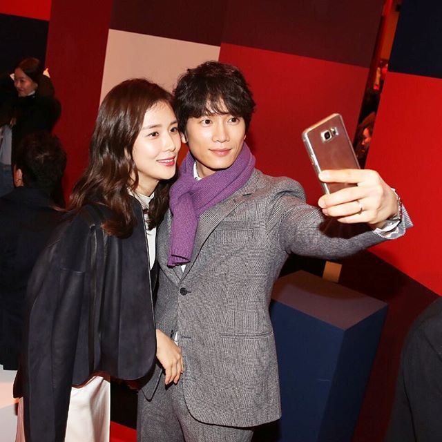Ji Sung dan Lee Bo Young