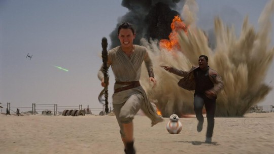 Mengintip Cuplikan Film Star Wars: The Force Awakens