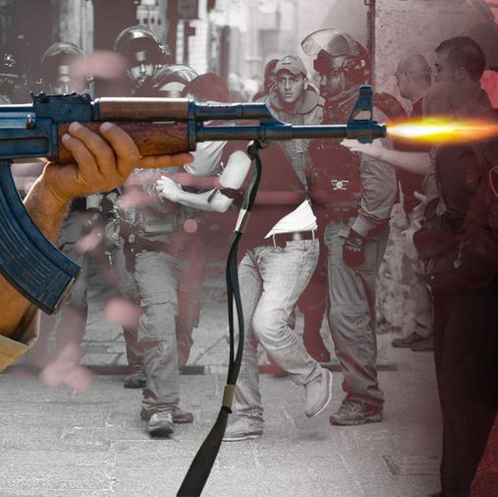 Ditembak Tentara Israel di Tepi Barat, ABG Palestina Meninggal