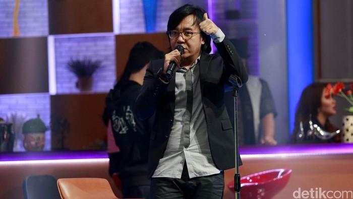 Ari Lasso saat ditemui di Studio Bukan Empat Mata, Tendenan, Jakarta Selatan, Kamis (17/12/2015). Reno hastukrisnapati Widarto/detikcom.