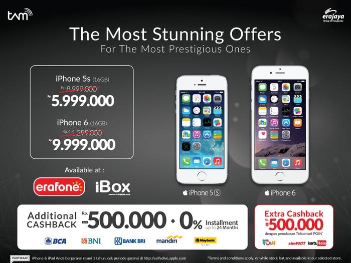 Cara kredit hp di erafone,harga iphone akhir tahun erafone dan