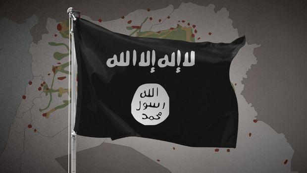 Ilustrasi bendera ISIS.