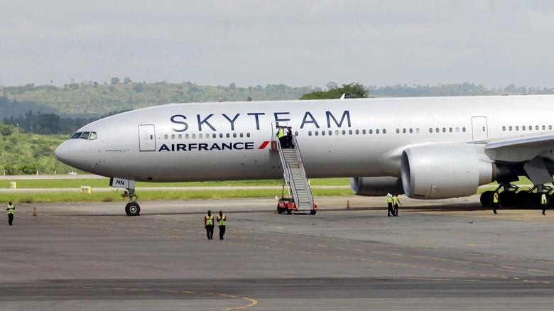 Ilustrasi pesawat Air France (REUTERS/Joseph Okanga)