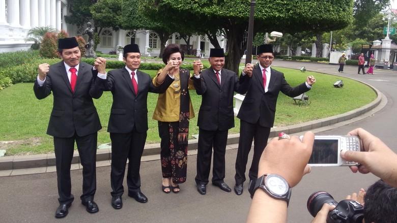 Sah! KPK Dipimpin 5 Pimpinan Baru