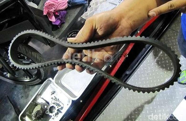 itle Drive belt skuter matik. Foto: detikOto