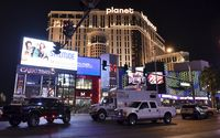 Ilustrasi Las Vegas (Reuters/David Becker)