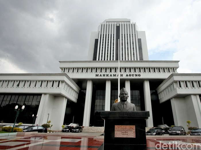 Gedung Mahkamah Agung di Jalan Medan Merdeka Utara, Jakarta (Ari/detikcom)