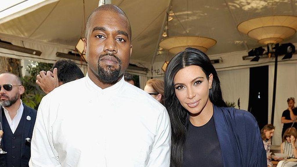 Kanye West Beli HP Pertama Demi Gagalkan Pernikahan Kim K & Kris Humphries