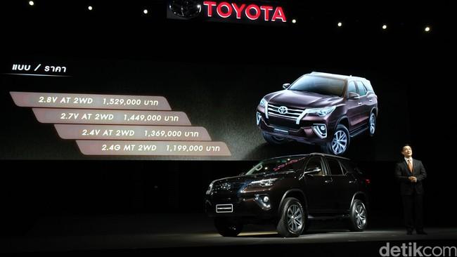 Ini Detail Perubahan Toyota Fortuner