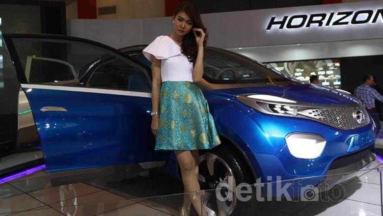 Mobil konsep Tata Xenon yang sempat dipamerkan di Indonesia Foto: Agung Pambudhy