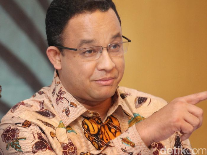 Gubernur DKI Jakarta Anies Baswedan/Foto: Ari Saputra