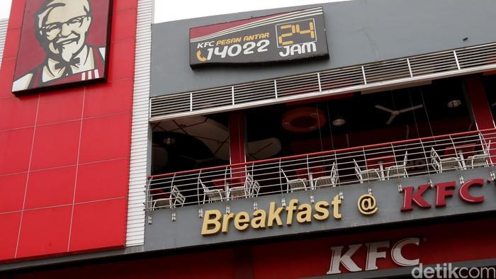 Restoran cepat saji  ayam goreng kfc. dikhy sasra /ilustrasi/ detikfoto