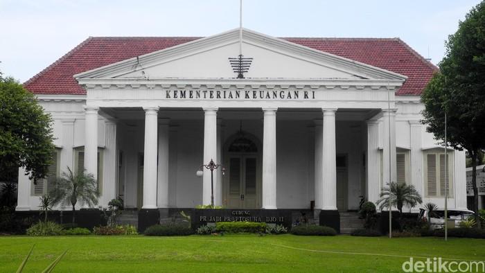 Gedung Prijadi Praptosuhardjo, Kementrian Keuangan