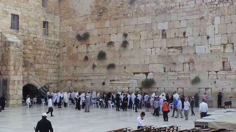 Tembok Ratapan di Yerusalem (Erwin Dariyanto/detikTravel)