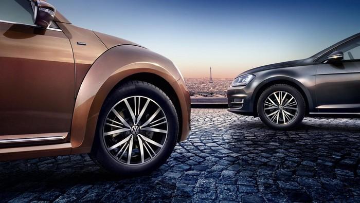 Sebagai salah satu sponsor Piala Eropa 2016 di Prancis, pabrikan mobil asal Jerman, Volkswagen ikut merayakannya.