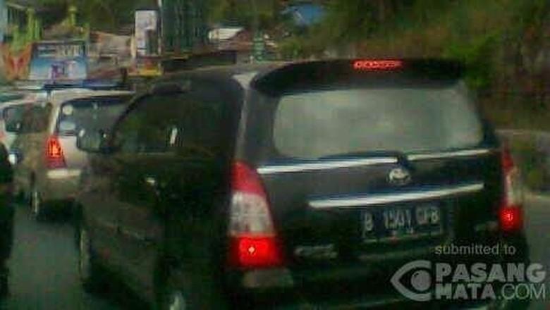 Tol Arah Puncak Bogor Macet, Antrean Kendaraan 3 Km