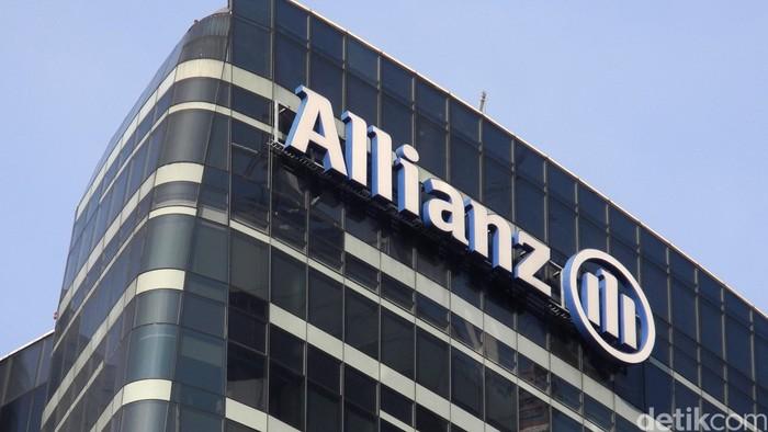 Logo Allianz di gedung Allianz, Jl rasuna Said Jakarta