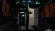 Disita Kemenhub, Ada Pesta dengan Wanita Bergoyang di Bus Party