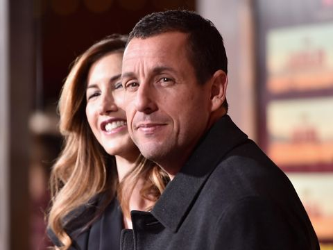 UNIVERSAL CITY, CA - NOVEMBER 30:  Jackie Sandler and actor Adam Sandler attend the premiere of Netflix's