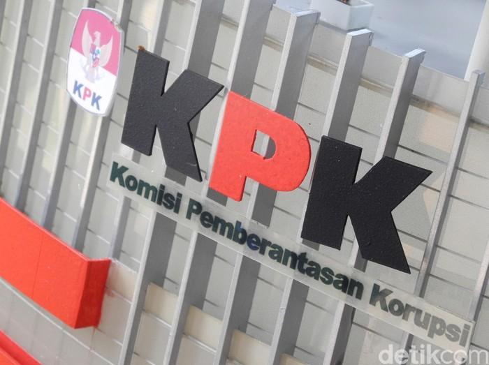 Logo, ilustrasi, gedung Komisi Pembarantasan Korupsi (KPK)