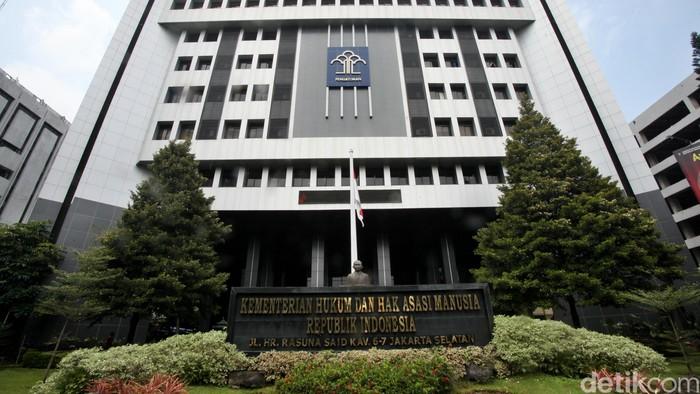 Gedung Kementrian Hukum dan HAM (Kemenkum HAM), Jl Rasuna Said