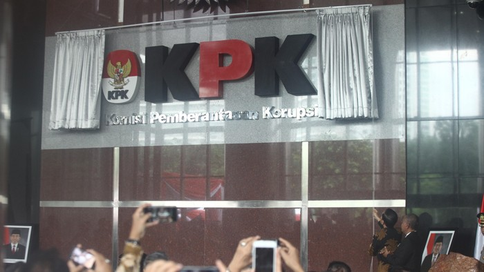 Peresmian gedung baru KPK