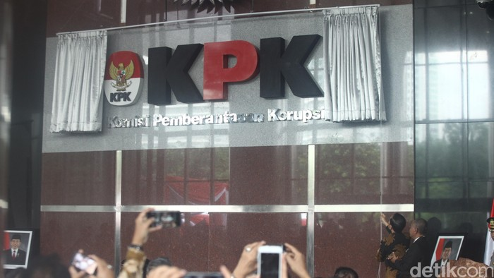 Peresmian gedung baru KPK oleh Jokowi (29/12/2015)